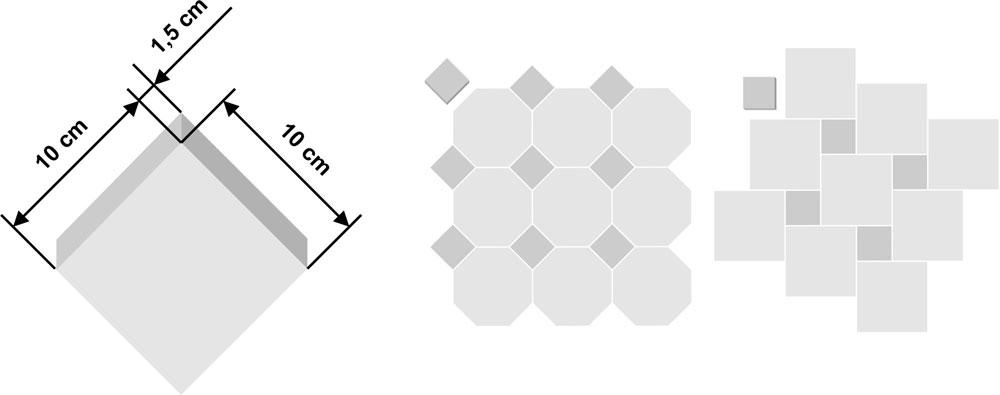 Tessera per azulejo 10x10cm
