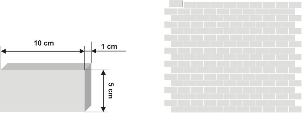 Pieza de zellige Bejemat de 5x10cm