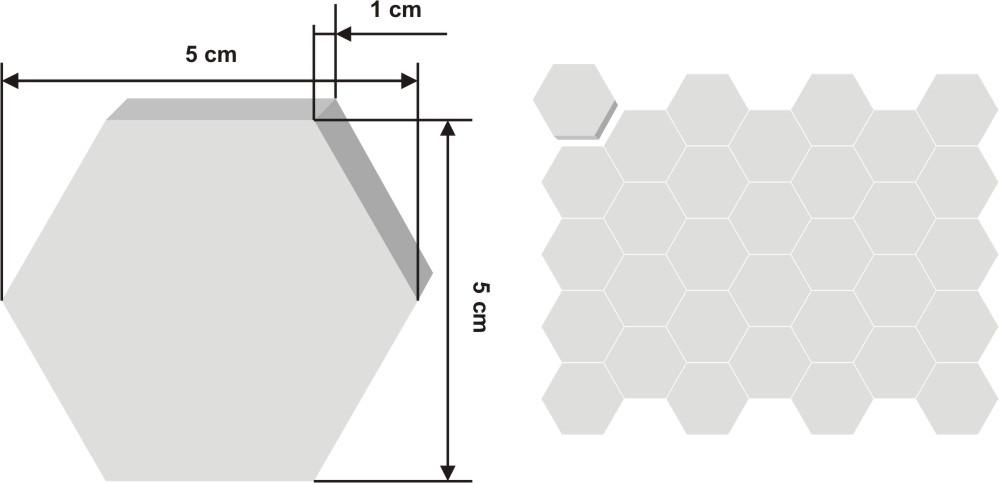Pieza de zellige Kora de 5x4.5cm